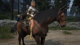 getlinkyoutube.com-Black Desert Online: Horse Taming (2nd CB Korea)