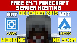 getlinkyoutube.com-Free 24/7 Minecraft Server Hosting (Not Triangle Or Aternos) No Survey|January 2016|Working|