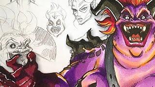 getlinkyoutube.com-DEMON ASSASSIN - Character Design Session!