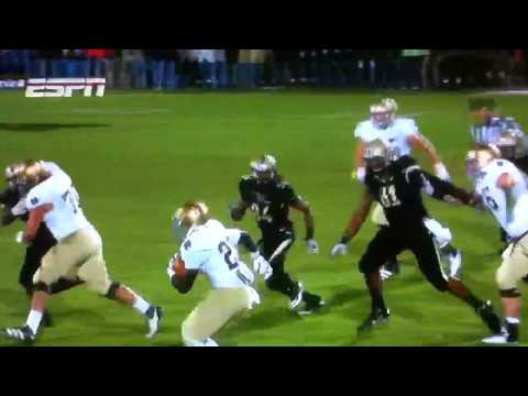 Cierre Wood Hurtles Purdue Player