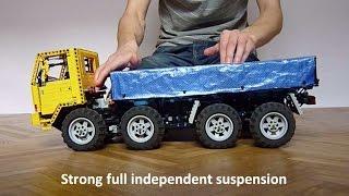 getlinkyoutube.com-Lego Volvo FL12 8x8 Trial Truck