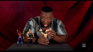 getlinkyoutube.com-Big E unboxes Mattel's Super Strikers Slam 'N Launch Arena