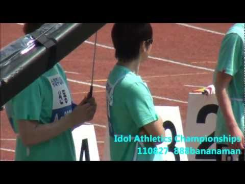 [fancam] 110827 Idol Athletics Championships Super Junior  Forcus Sungmin  Shindong
