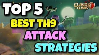 "getlinkyoutube.com-New ""TOP 5 BEST"" TH9 War Attack STRATEGIES   AFTER HALLOWEEN UPDATE   2016   Clash Of Clans"
