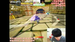 getlinkyoutube.com-[김택환TV] 카트라이더 트랜스포머(Transformers) 솔라님과 10만원 매치 2편