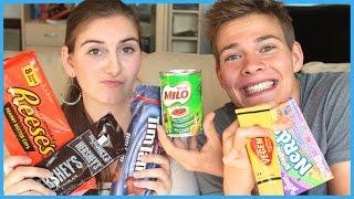 getlinkyoutube.com-American VS. Australian Food - Challenge (German)