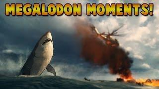 MEGALODON Moments! - Battlefield 4 (BF4 Giant Shark Easter Egg!)