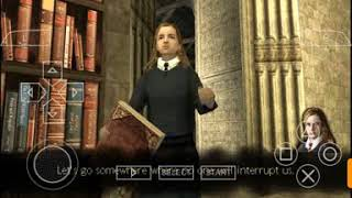 Harry Potter the order of Phoenix gameplay part 5 (PSP)