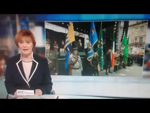 IRB AT THE RECLAIM 1916 MARCH ON THE 6 ONE NEWS