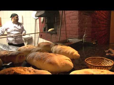 Pão italiano cocinare