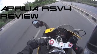 getlinkyoutube.com-2013 Aprilia RSV4 Short Ride/Review With SC Project CRT
