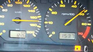 Seat Cordoba speeding -fail- xD