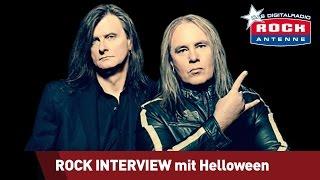 getlinkyoutube.com-ROCK ANTENNE Interview: Helloween - 2015 My God-Given Right mit dem Metalmoser