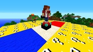 getlinkyoutube.com-Minecraft MODDED BATTLEDOME #51 'LUCKY BLOCKS!' with Vikkstar, BajanCanadian, Woofless & More!