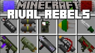getlinkyoutube.com-Minecraft NUCLEAR WEAPONS MOD / EXTREME WEAPONS AND RIVAL REBELS!! Minecraft