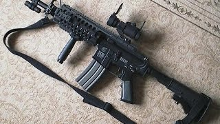 getlinkyoutube.com-M4a1 Airsoft m4a1 gun m4 carbine real sung hoi