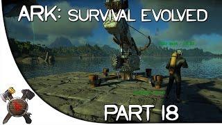 "getlinkyoutube.com-Ark: Survival Evolved Gameplay - Part 18: ""Mosasaurus HUNT!"""