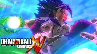 getlinkyoutube.com-SSJ4 Broly vs. SSGSS Goku, Lord Beerus, & Golden Frieza [Dragon Ball Xenoverse PC Mod]