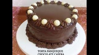 getlinkyoutube.com-TORTA PANQUEQUE CHOCOLATE CASERA PASO A PASO- Silvana Cocina ❤