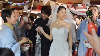 getlinkyoutube.com-NHK朝ドラ・まれ 最終回でウエディングドレス