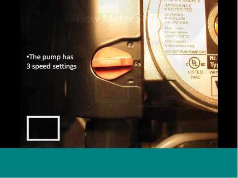 Part 5 of the SunMaxx Commissioning Series: Determining & Setting Proper Flow Rate