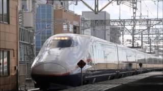 getlinkyoutube.com-E2系 N10編成 廃車回送 新潟駅入線