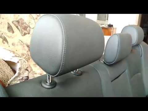 BMW F10 задний кожаный диван