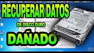 getlinkyoutube.com-►►Como recuperar los  datos de un disco duro dañado ▐ En español 2016▐◄◄