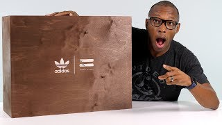 UNBOXING: INSANE adidas BOOST Sneaker Package From Pharrell Williams' Collection
