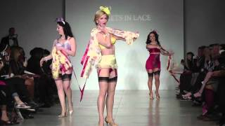 getlinkyoutube.com-Secrets in Lace at Lingerie Fashion Week 2014 with Angie Pontani