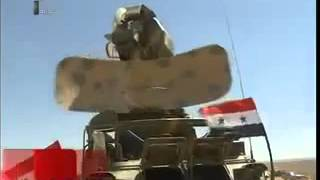 getlinkyoutube.com-Live firing ground-to-air defence missile system Syrian Syria arm Pechora-2M Pantsyr-S1
