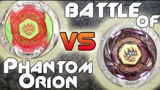 getlinkyoutube.com-BATTLE: Phantom Orion B:D HYPERSBLADE VS Phantom Orion TAKARA TOMY 4D - Battle of The Geeks