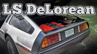 1982 LS Powered DeLorean DMC-12: Regular Car Reviews