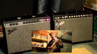 getlinkyoutube.com-Fender Super-Sonic 22 vs Fender '65 Deluxe Reverb (Clean Test)