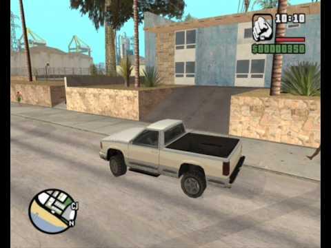 Универсальные огни заднего хода для Grand Theft Auto: San Andreas