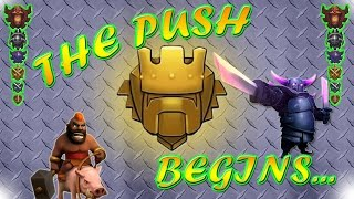 getlinkyoutube.com-Clash of Clans - PUSHING TO TITAN BABY! *DAY 1* (Racing With Nick) - #029