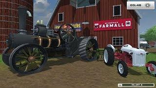 getlinkyoutube.com-Farm sim Saturday Farming With STEAM POWER