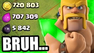 getlinkyoutube.com-Clash Of Clans - GET RICH OR DIE TRYING!! - WHERE TO FARM!?!