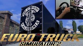 getlinkyoutube.com-Euro truck simulator 2 - Mod PETERBILT 379 Com trailer Americano da serie SOA -G27