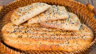 getlinkyoutube.com-Barbari Bread نان بربری