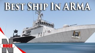 getlinkyoutube.com-BEST SHIP IN ARMA 3!!! Fully Textured - FFAA ARMA 3 Mod