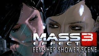 getlinkyoutube.com-Mass Effect 3 - Lesbian Shower Sex Scene