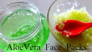 getlinkyoutube.com-Aloe Vera Face Packs to Remove Dark Spots, Acne Scars & Pimple Marks