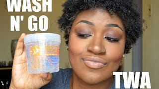 getlinkyoutube.com-WASH N GO Using ECO STYLER GEL | TWA
