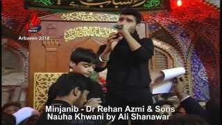getlinkyoutube.com-Ali Shanawar Reciting Nauha In Roza e Hazrat Abbas (as) 2014-1435 الاربعين في كربلاء