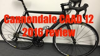getlinkyoutube.com-2016 Cannondale CAAD 12 Review
