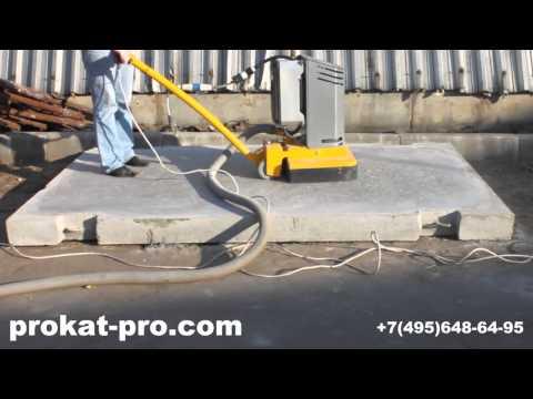 Шлифовка и полировка бетона от prokat-pro.com