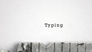 getlinkyoutube.com-After Effects - Typewriter Typing with Sound