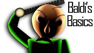 THIS GAME ONLY TEACHES HORROR | Baldi's Basics in Education and Learning