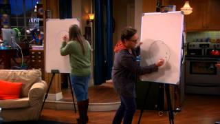 getlinkyoutube.com-Game Night - Pictionary (Guys vs Girls) ~ The Big Bang Theory ~